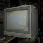 20 year old 1084 on its way to become a cabscreen
