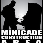 minicade construction area
