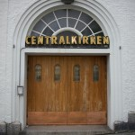 central church - I just love the neonsign
