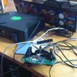 hacked controller hooked up to the actual CPO