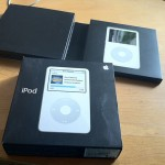 iPod - with packageing, right out of the dumpster
