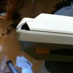 Atari 800 - case broken