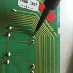 unsoldering the defunct switch